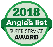 2018 angies list super service award winner